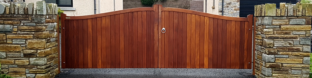 Cambourne Gate  from the Timbergate Traditional Range of Timber Gates