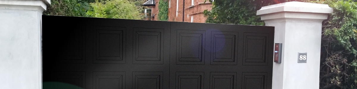 Camden Gate  from the Timbergate Modern Range of Timber Gates