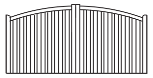 Cranmore Gates from TimberGate Traditional Range