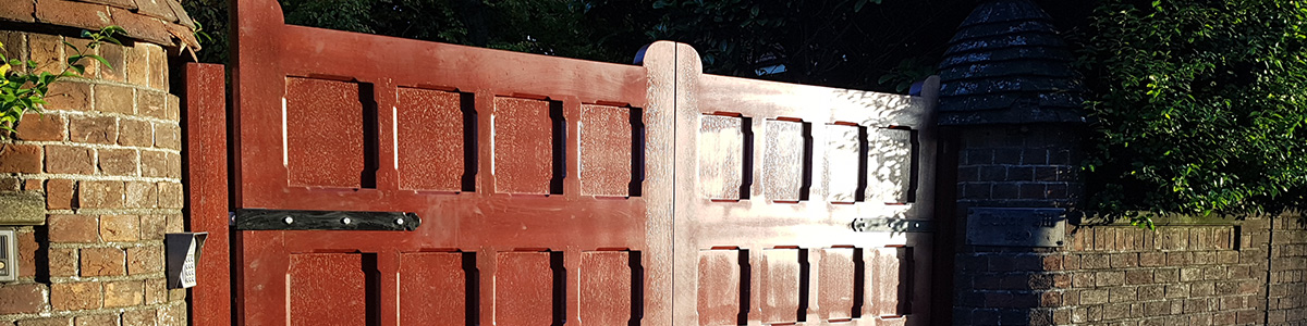 Malone Gate  from the Timbergate Traditional Range of Timber Gates