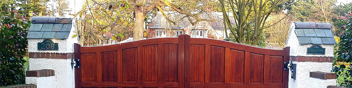 Musgrave Gate  from the Timbergate Traditional Range of Timber Gates