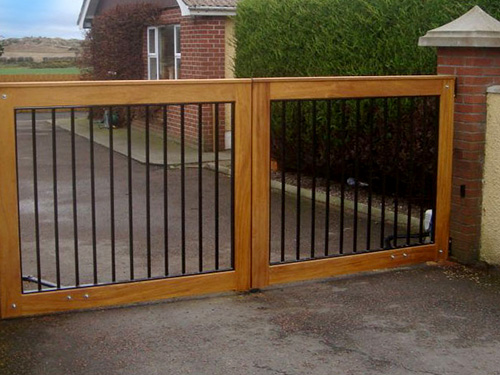 Seapark Gates from Timbergate